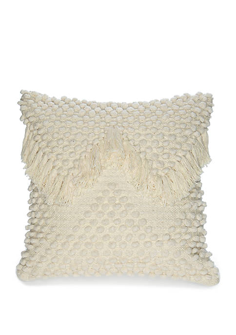 Foreside Home & Garden Hand Woven Emma Throw