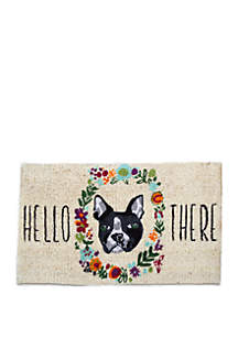 tag Hello There Dog Mat