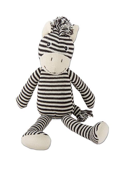 Plush Knit Zebra