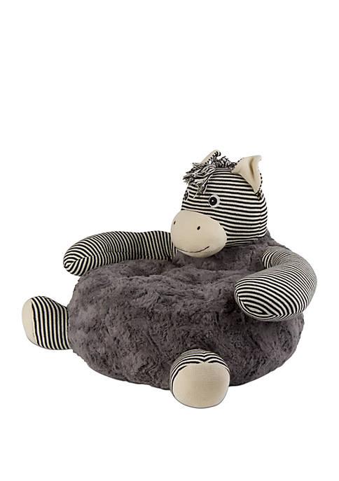 Zebra Plush Chair