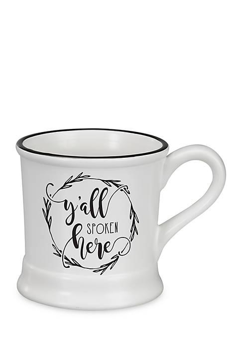 Occasionally Made Ceramic Mug- Yall Spoken Here