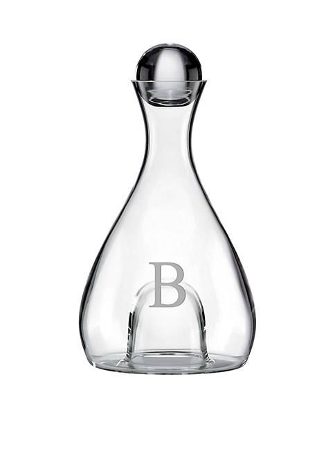 Lenox® Tuscany Classics Block Monogram Crystal Wine Decanter