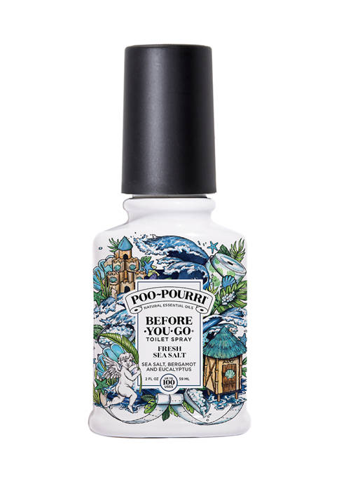 Poo-Pourri 2 Ounce Fresh Sea Salt Essential Oil