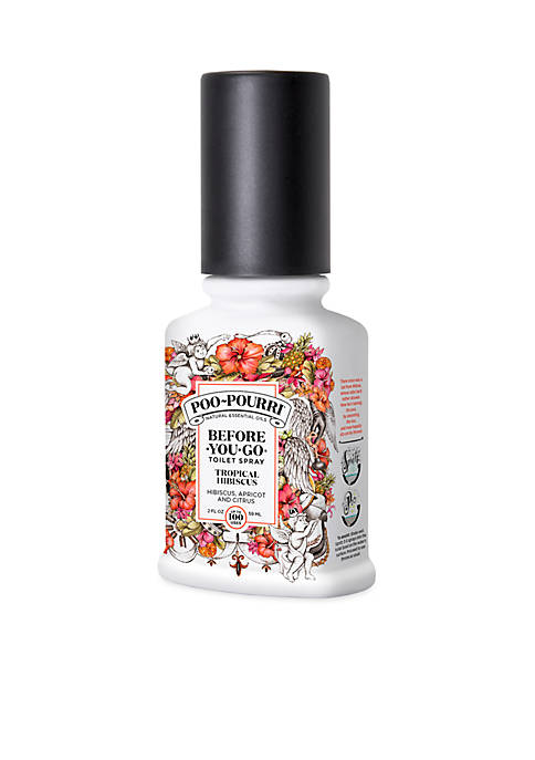 Poo-Pourri Tropical Hibiscus Before-You-Go Toilet Spray
