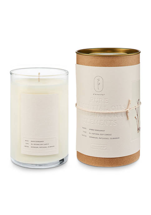 ILLUME Natural Glass Candle