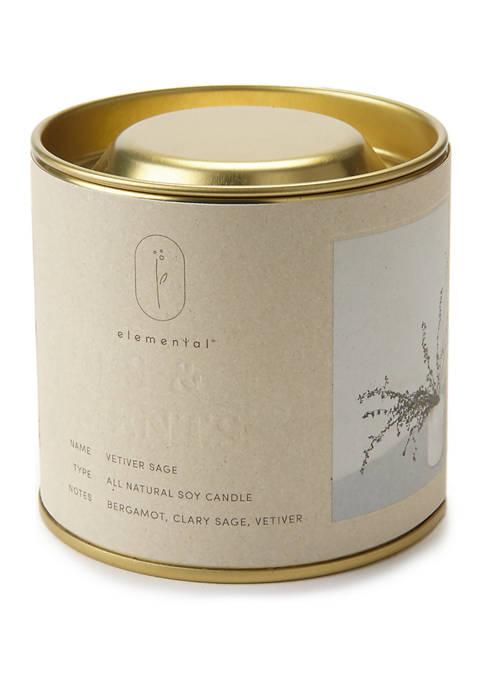 ILLUME Natural Tin Candle
