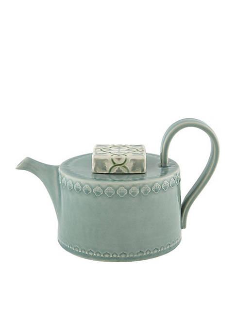 Bordallo Pinheiro Rua Nova Teapot