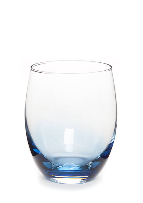 Crown & Ivy™ Navy Double Old Fashion Glass
