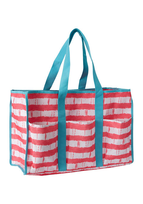 Crown & Ivy™ Pink Tie Dye Beach Bag