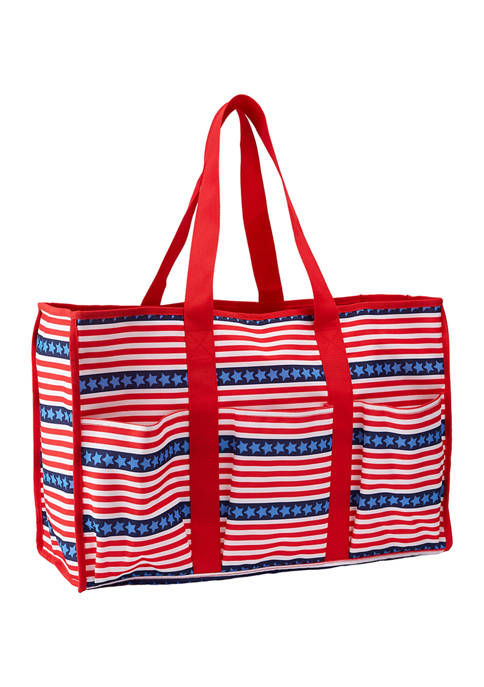 Crown & Ivy™ Red, White, and Blue Stripe