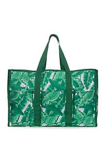 Crown & Ivy™ Palm Leaf Beach Tote