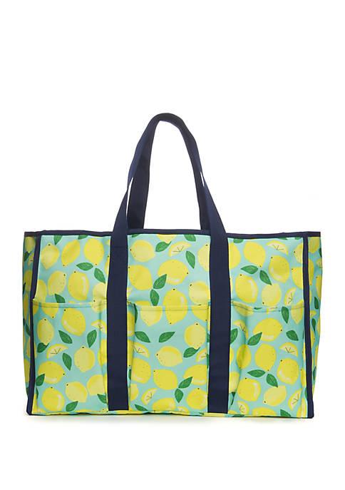Crown & Ivy™ Lemon Beach Tote