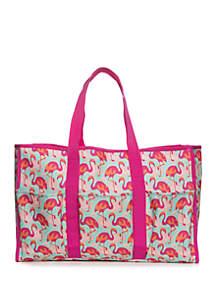 b824a0794 ... Crown & Ivy™ Flamingo Beach Bag Tote