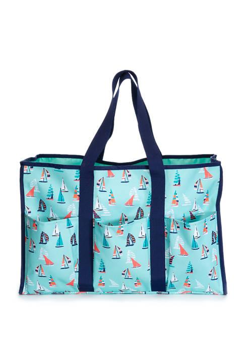 Sailboats Beach Bag