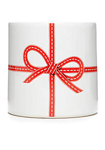 Home for the Holidays Small Red Bow Vase