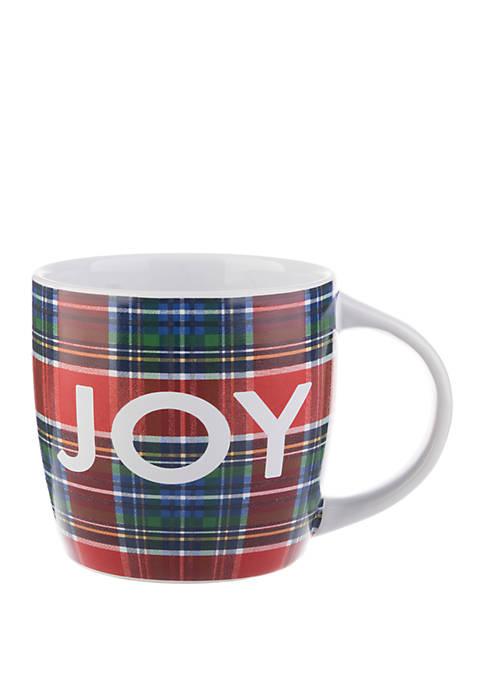 18 Ounce Barrel Mug - Joy