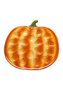 Pumpkin Egg Plate