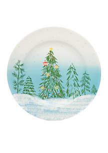 Tree Dinner Cookie Plate