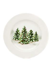 Tree Light Cookie Plate
