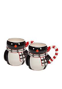 Penguin Mug, Set of 2