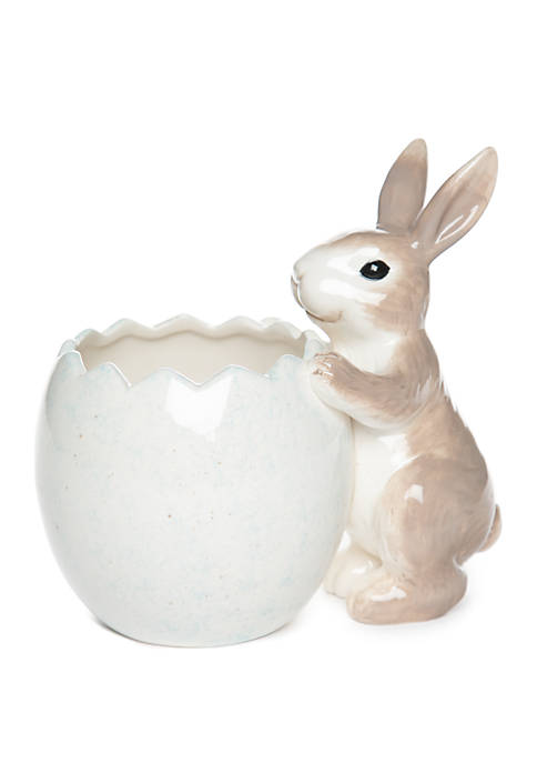 Easter Bunny Candy Bowl