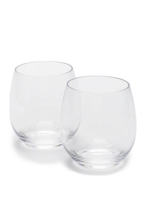 Modern. Southern. Home.™ Set of 2 Stemless Wine