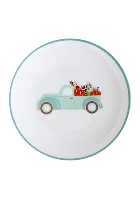Truck Melamine Dinner Plate