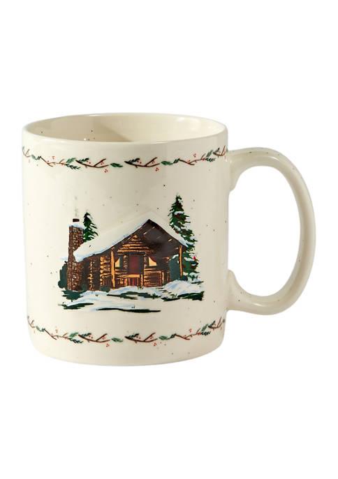 Lodge Ceramic Coffee Mug