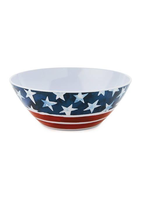 American Melamine Serving Bowl