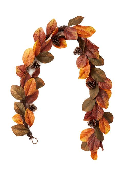 Modern. Southern. Home.™: Leaf Garland! .00 (REG .00) at Belk!