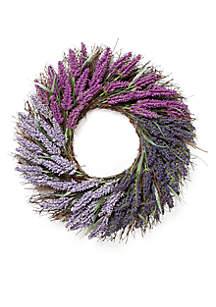 Lavendar Berry Heather Wreath