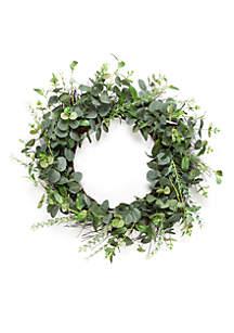 Eucalyptus Spiral Wreath