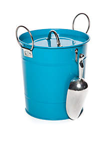 Modern. Southern. Home.™ Ice Bucket with PP Inner Bucket and AL Scoop SS Handle