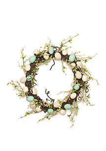 Modern. Southern. Home.™ Egg Rattan Wreath