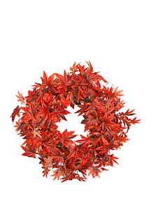 Modern. Southern. Home.™ Faux Maple Leaf Wreath