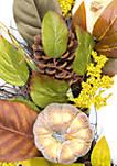 Pumpkin Pinecone Wreath