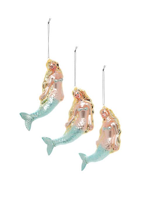 Joyland Seas & Greetings Set of 3 Mermaid