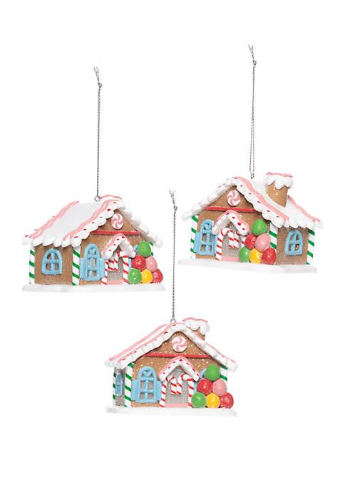 Joyland Christmas Traditions Set of 3 Candy House