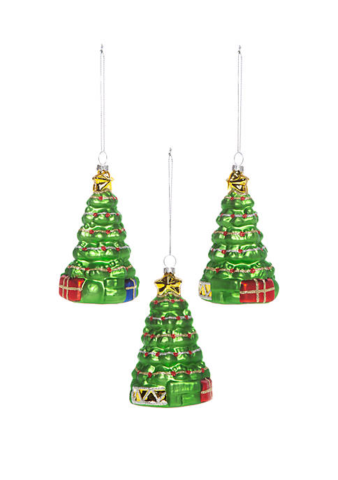 Christmas Traditions Set of 3 Tree Ornaments
