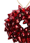 Woodland Winter Glass Wreath