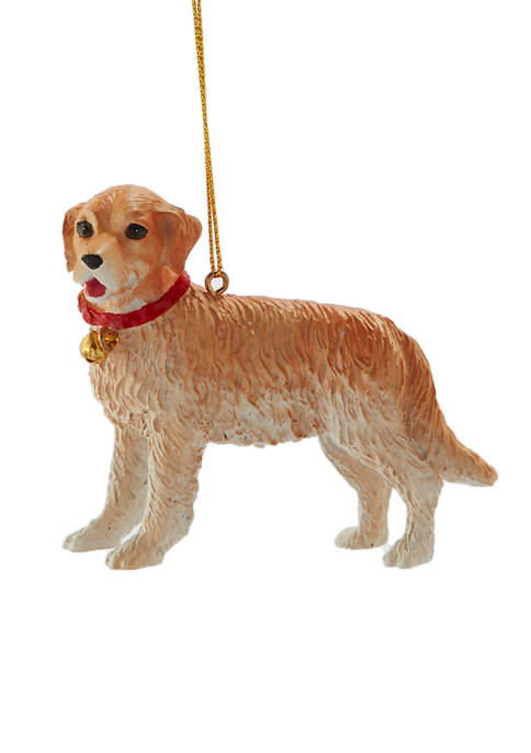 Joyland Yellow Dog Ornament