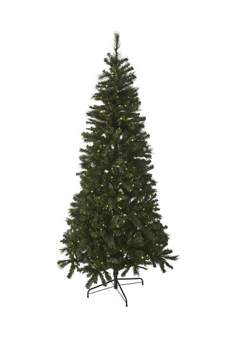 Joyland 7.5 Foot Pre Lit Green Tree