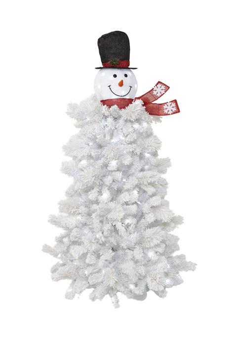 Joyland 5 Foot Pre Lit Snowman Tree