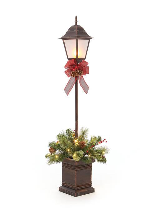 Joyland 4 Foot Pre Lit Lamp Post