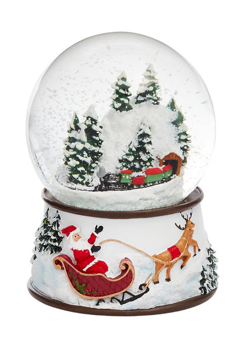 Train Snow Globe
