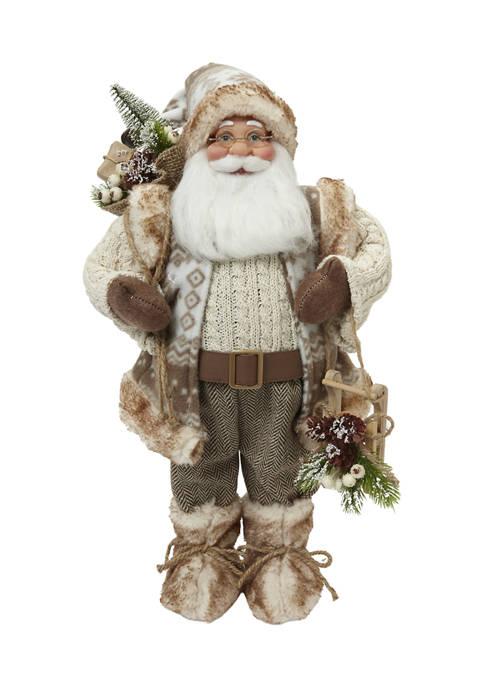 Joyland Fur Trim Santa