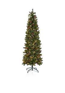7.5 ft Decorated Pencil Tree
