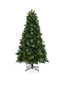 7.5 ft Glitter Tree