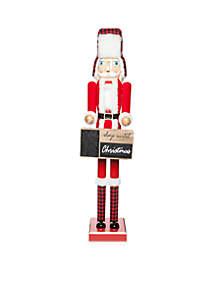 Cozy Christmas 4' Days Til' Christmas Nutcracker