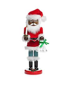 Christmas Past 14-in. Black Santa Nutcracker